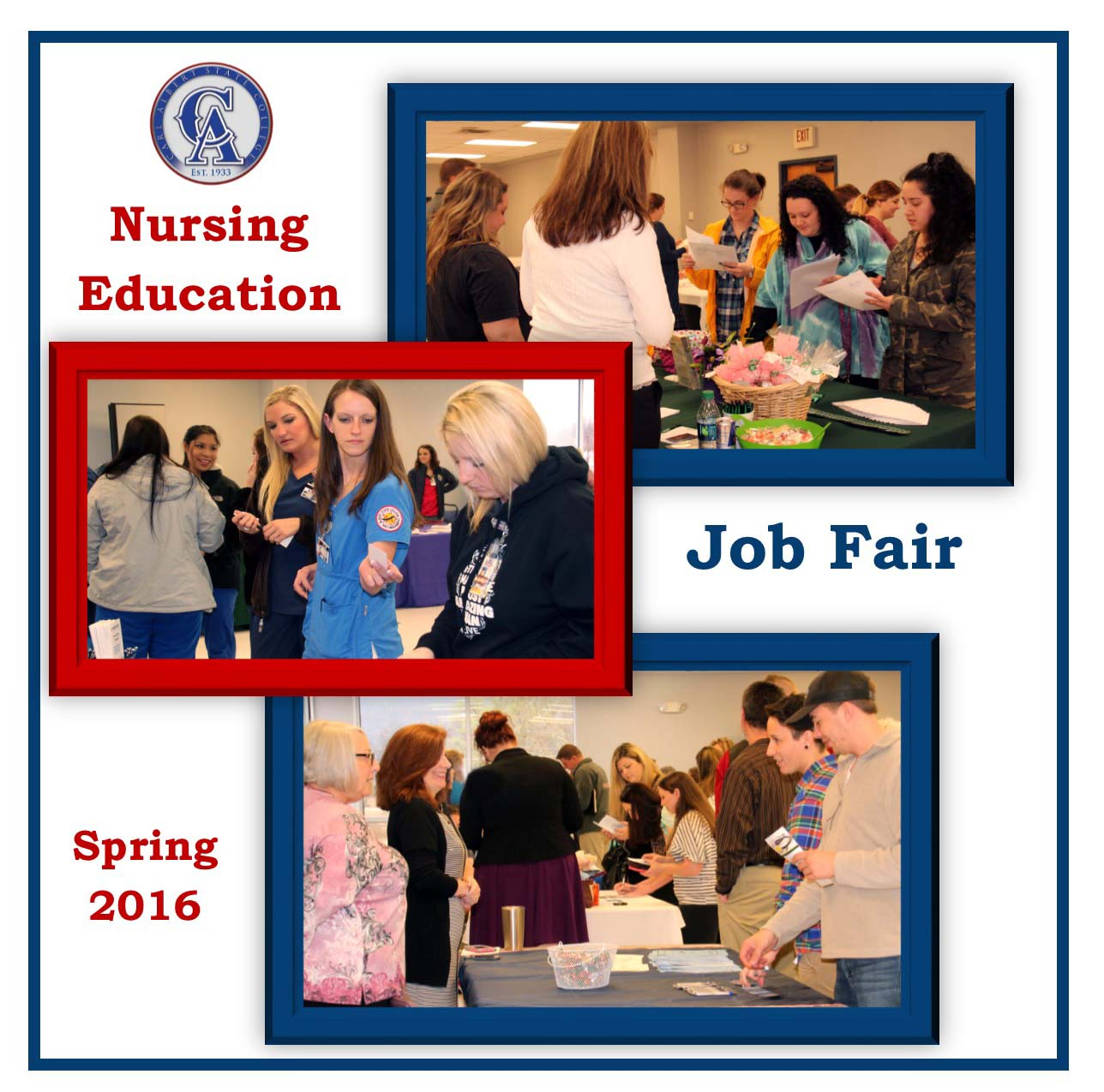 2016 nursing job fair