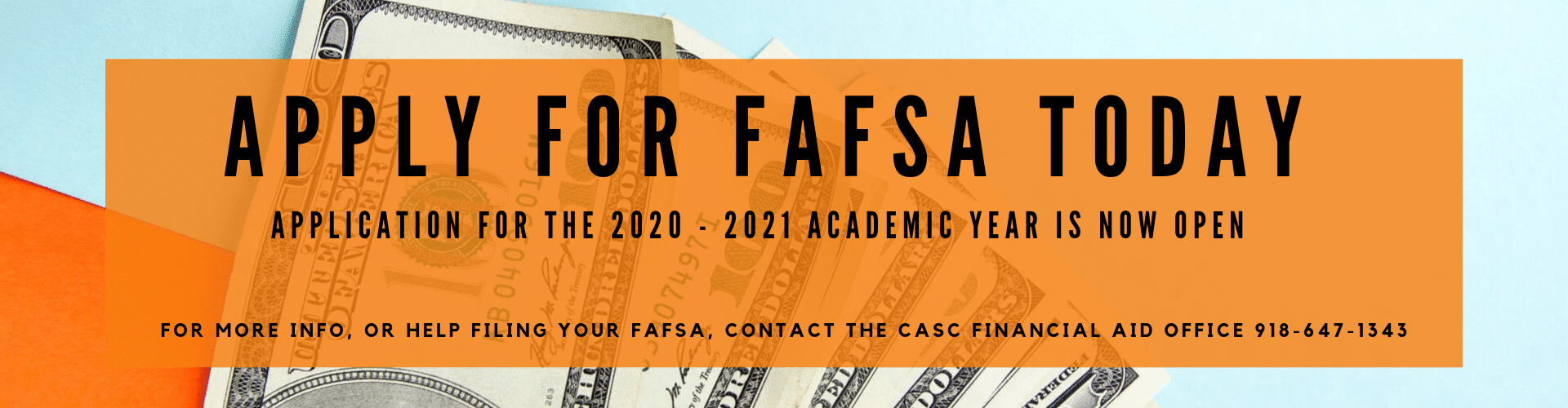 APPLICATION FOR THE 2020 - 2021 ACADEMIC YEAR IS NOW OPEN